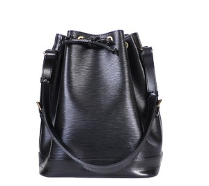 Louis Vuitton Lv Lv Shoulder Tote in Black