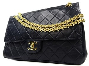 Chanel Jumbo Medium Classic Flap Mademoiselle Shoulder Bag