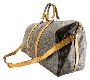 Louis Vuitton Duffle Two Way Travel Travel Bag