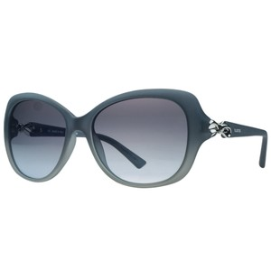 Valentino Valentino Blue Gradient/Grey Rectangular Sunglasses