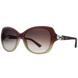 Valentino Valentino Red Gradient Rectangular Sunglasses