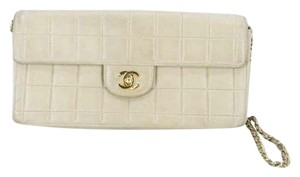 Chanel Cc Woc Quilted Chocolate Bar Shoulder Bag