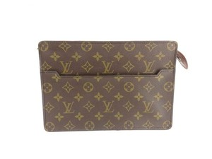 Louis Vuitton Monogram Homme Clutch 210066