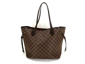 Louis Vuitton Neverfull Tote in Damier Ebene