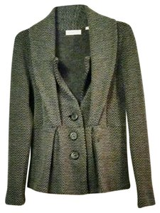 Anthropologie Sleeping Knit grey Blazer
