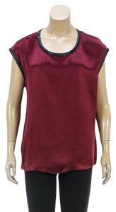 Helmut Lang Top Burgundy