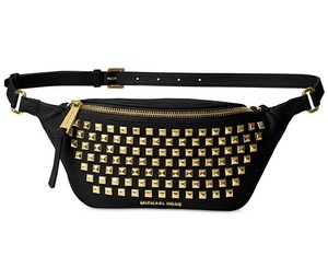 Michael Kors Crossbody Crossbody Wallet Messenger Black Gold Travel Bag