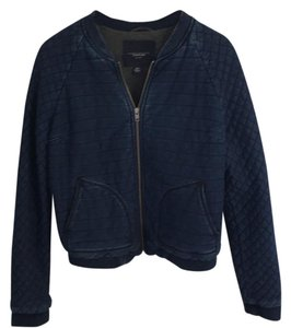 American Eagle Outfitters Navy Womens Jean Jacket