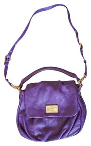 Marc by Marc Jacobs Purple Cross Body Soft Hobo Bag