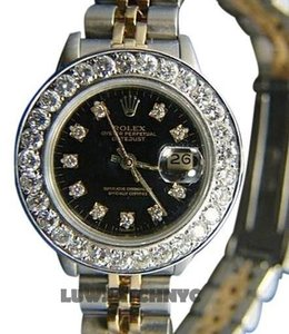 Rolex LADIES ROLEX DATEJUST 26MM DIAMOND WATCH WITH ROLEX BOX & APPRAISAL
