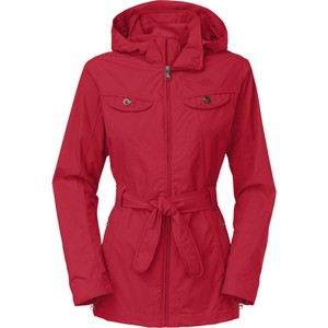 The North Face Water-repellant Water-resistant Breathable Hooded Belted Trench Coat