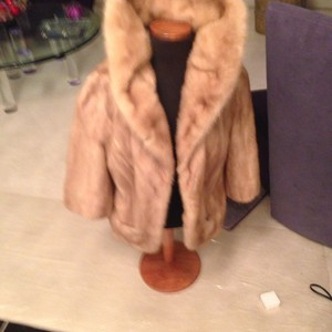 Blonde mink jacket Fur Coat