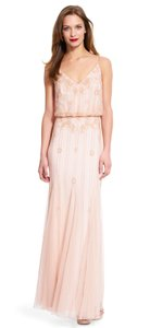 Adrianna Papell Beaded Spaghetti Strap Dress
