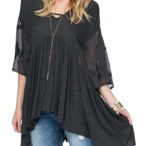 Free People Top Slate