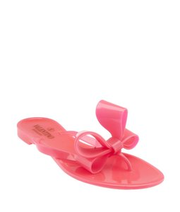 Valentino Bow Rubber Pink Athletic