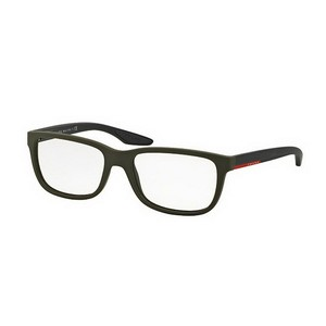 Prada Prada PS02GV-UBW1O1 Linea Rossa Men's 56mm Eyeglasses NIB