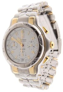 TAG Heuer Tag Heuer Professional 200m Automatic Chrono Two Tone 42mm Date Watch
