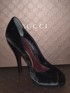 Gucci Leather Leather Black Pumps