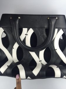 Bally Tote in black/white