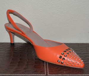 Gucci Leather Leather Orange Pumps