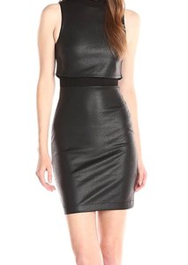 French Connection Sheath Evening Mock Neck Dress