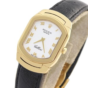 Rolex Rolex Cellini Ladies 18 KT Yellow Gold with Box. Made in Switzerland
