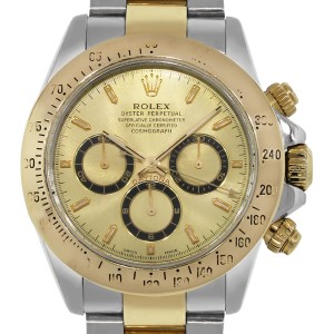 Rolex Rolex Daytona 16523 Two Tone Champagne Dial Watch