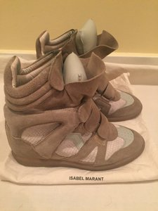 Isabel Marant Suede taupe Athletic