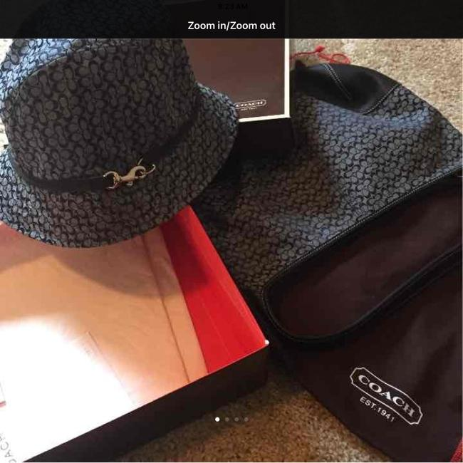 Item - Bucket Small C and Hat Blue Hobo Bag
