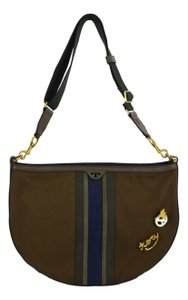 Tory Burch Tote Semi Circle Fashion Hobo Bag