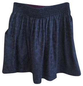 Silence + Noise Mini Skirt Blue