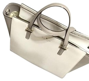 Kate Spade Satchel in Cream/Taupe