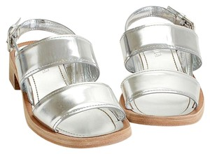 Prada Trendy Retro silver Sandals