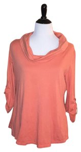 Soft Surroundings Top peach