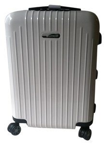 Rimowa Lightweight Polycarbonate Carry On Spinner White Travel Bag