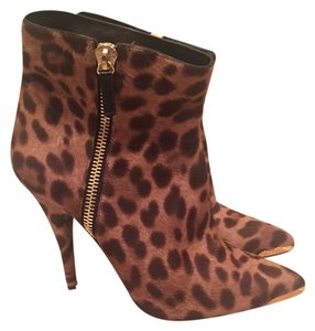 Tabitha Simmons pony leopard Boots