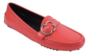 Gucci Womens Moccasin Women 370616 Pink Flats