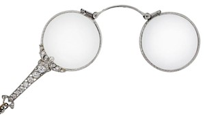 Cartier Cartier Opera Platinum 1ctw Diamond Antique Glasses