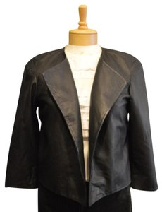 Eileen Fisher The Project Leather Jacket