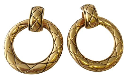 Preload https://item3.tradesy.com/images/chanel-gold-tone-quilted-2-way-earrings-199232-0-0.jpg?width=440&height=440