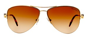 Tiffany & Co. TF 3021 60023B (color) GOLD TIFFANY AVIATOR - Free 3 Day Shipping