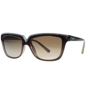 Valentino Valentino Brown Rectangular Sunglasses