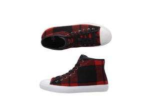 Coach Chic Vintage Sneakers Plaid Boots