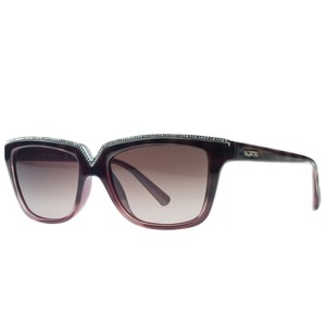 Valentino Valentino Havana/Red Rectangular Sunglasses