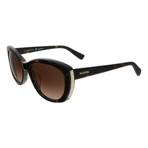 Valentino Valentino Dark Havana Cat Eye Valentino Sunglasses