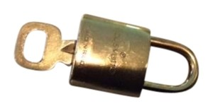 Louis Vuitton Louis Vuitton Brass Lock