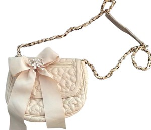 Betsey Johnson Leather Cross Body Bag