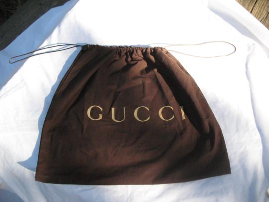 Gucci Embossed Leather Medium Classic Hobo Bag