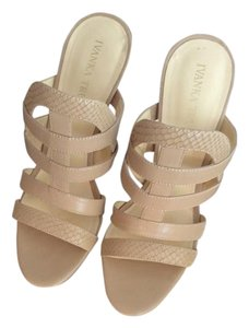 Ivanka Trump Nude Sandals