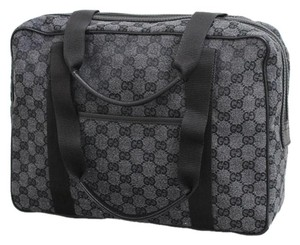 Gucci Gg Canvas Tote Shoulder Laptop Bag